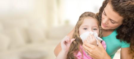 Bild: Erkältung bei Kindern