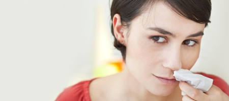 Bild: Tipps bei Nasenbluten