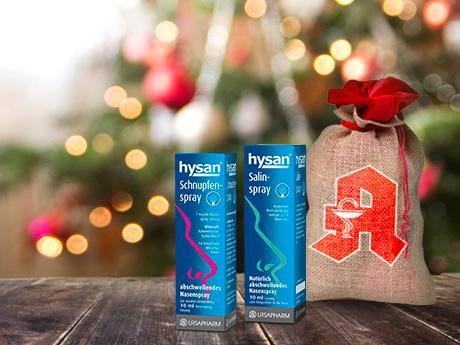 hysan® • Hausapotheke für Notfälle an Weihnachten vorbereiten