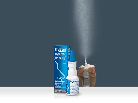 hysan® Die Nase befeuchten aber richtig