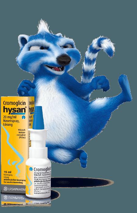 Cromoglicin hysan® - Beruhigt die Nase bei Heuschnupfen