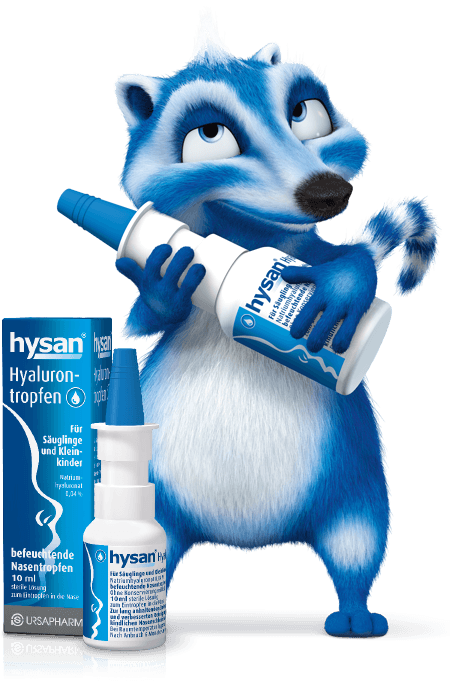 hysan® Hyalurontropfen Nasenbär