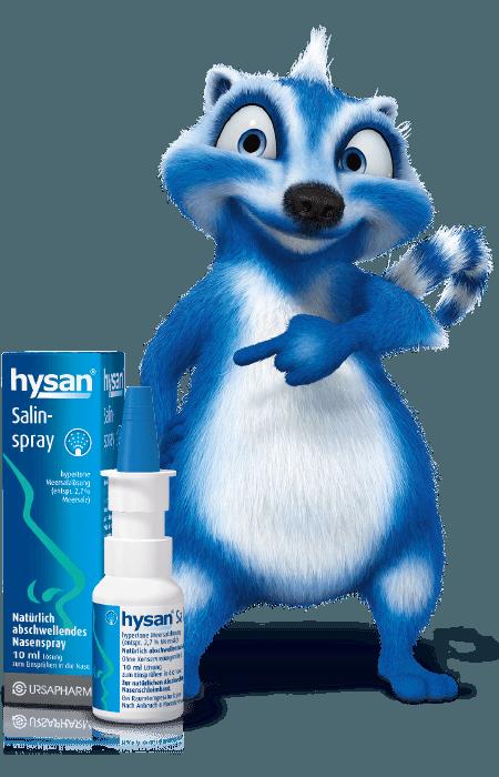 hysan® Salinspray - Natürlich Hilfe bei Schnupfen