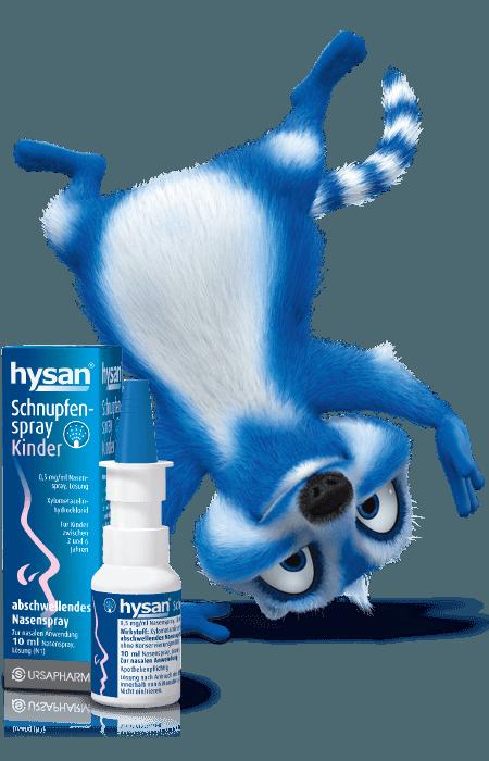 hysan® Schnupfenspray Kinder - Für kleine Schnupfennasen