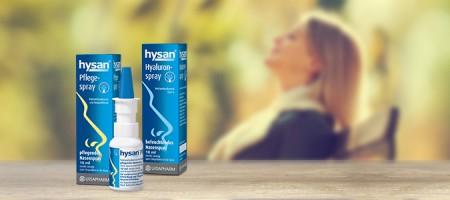 Bild: hysan® Pflegespray oder hysan® Hyaluronspray – was ist das richtige für mich?
